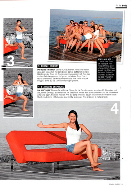 Fit for Fun - Das Sofa Workout